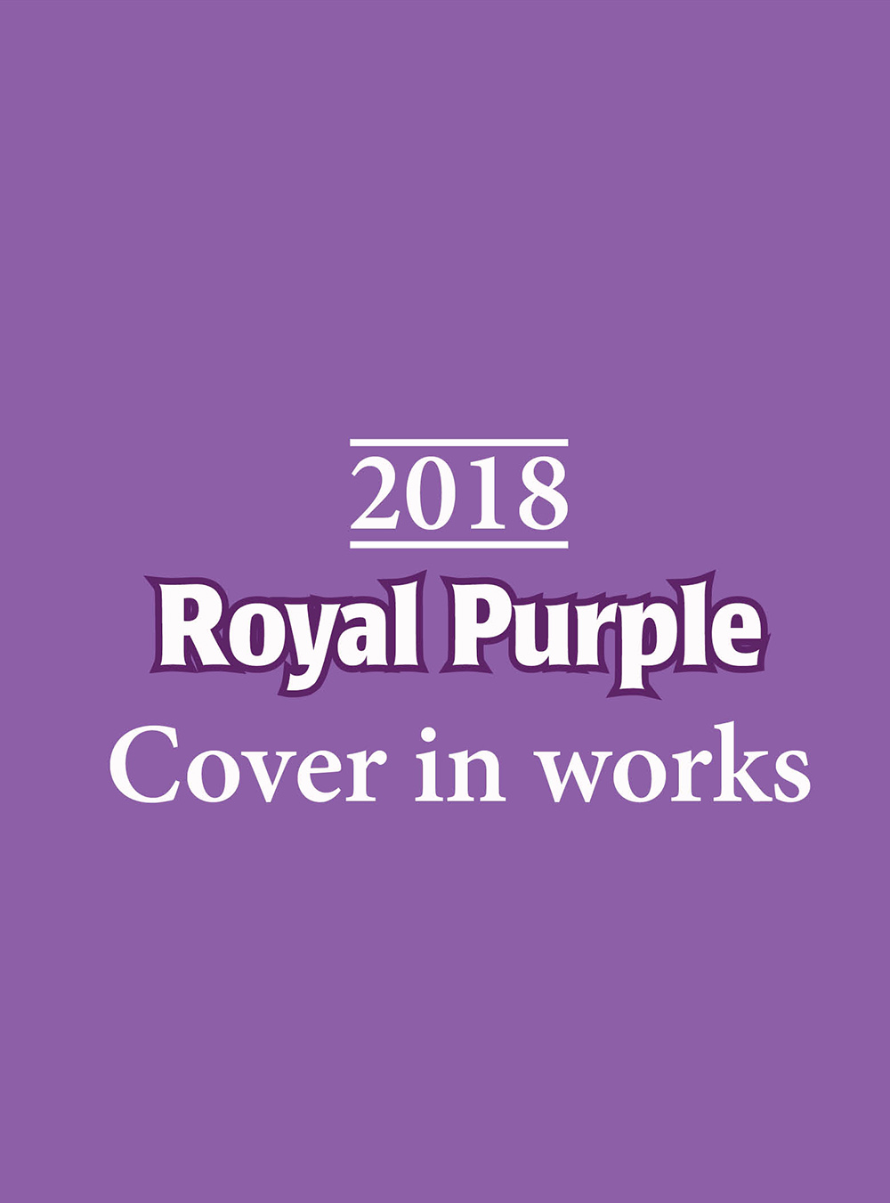2018 Royal Purple